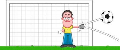 cartoon-goalkeeper-deflecting-ball-soccer-funny-smiling-35081410